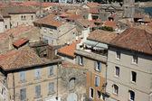 Vista sobre as casas em arles, sul da frança — Foto Stock