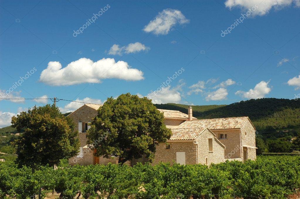 Casa de campo en la provenza francia foto de stock 9454740 depositphotos - Casas en la provenza ...