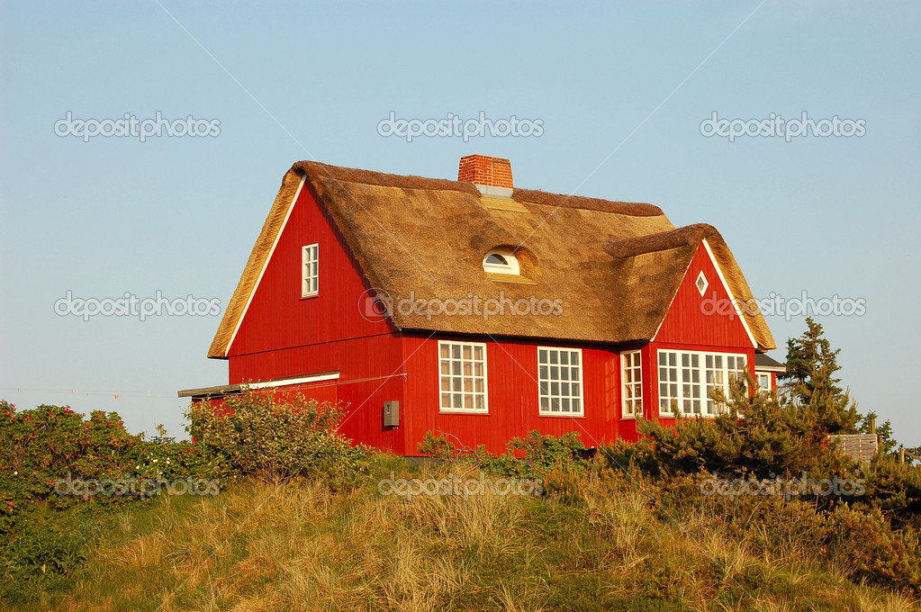 Danish Summer House — Stock Photo #9456669