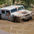 Royalty-Free Stock Photo: Hummer H1 at offroad rally competition