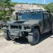US military vehicle Hummer H1 — Stock Photo #9590017