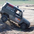 Stock Photo: Mercedes Benz 300 GD at offroad rally competition