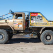 图库照片: Ural rally truck at offroad competition