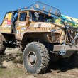 Ural rally truck at offroad competition — Stock Photo #9590829