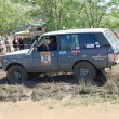 Stock Photo: Range Rover at offroad rally competition
