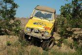 Jeep di suzuki sj al concorso raduno offroad — Foto Stock