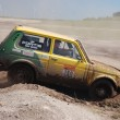 Stock Photo: Lada Niva at offroad rally competition