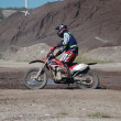 enduro motocross competition — Stock Photo #9636900