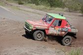 Mercedes Benz 280 GE at offroad rally competition — Stock Photo