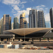 Dubai MarinMetro Station — Stock Photo #9687555