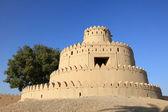 Al jahili fort em al ain, o emirado de abu dhabi — Fotografia Stock