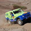 Mercedes Benz G Model at offroad rally competition — Stock Photo #9733123