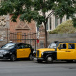 Stock Photo: Taxis in Barcelona, Spain