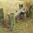 Gothic gravestone — Stock Photo #9872234