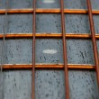 Stock Photo: Strings of acoustic guitar