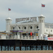 The Brighton Pier, UK — Stock Photo