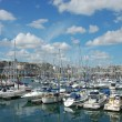 Marina in Plymouth, England — Stock Photo