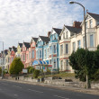 Street in Plymouth, England - Stock Photo