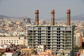 バルセロナ、スペインの町並み — ストック写真
