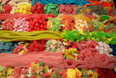 Sweets at La Boqueria market in Barcelona, Spain — Stock Photo
