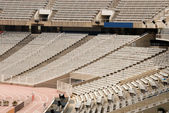 Empty seats in a huge stadium — Stock Photo