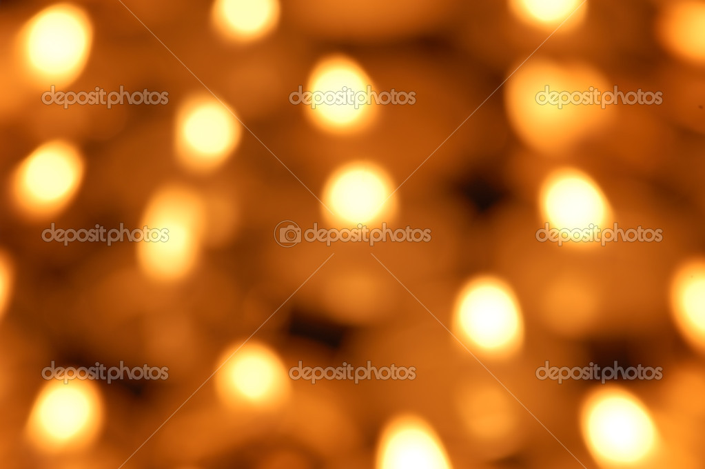 Shining candlelight background — Stockfoto #9875357