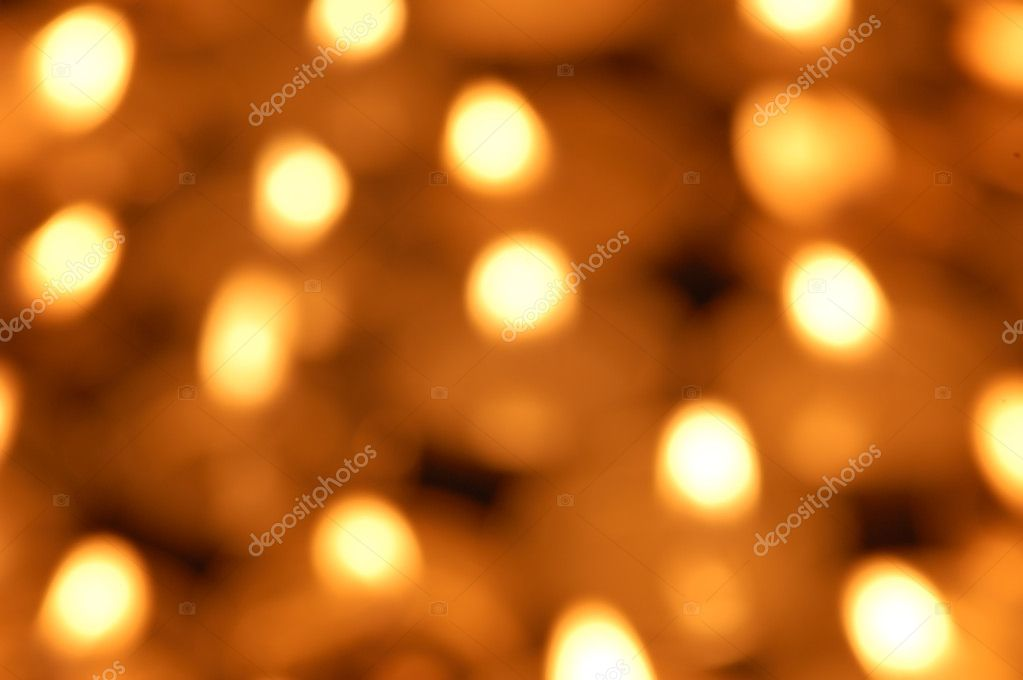 Shining candlelight background  Foto Stock #9875357