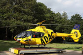 Rescue helicopter ADAC Luftrettung, Germany — Stock Photo