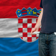 Stock Photo: Recession impact on young mand society in croatia