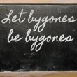 Expression -  Let bygones be bygones — Foto de Stock