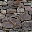 Detail shot of stone wall - Stock Photo