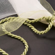 Bow and cord — Stock Photo