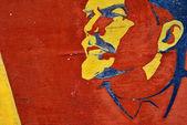 Lenin - leader of world revolution. — Stock Photo