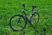Fahrrad allein. — Stockfoto