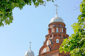 The Orthodox cathedral. — Stock Photo