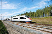 High-speed rail — Stock Photo