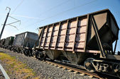 Railway wagons — Stock Photo