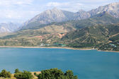 View of the Mountain lake Chervak — Stock Photo