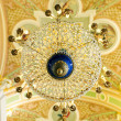 Chandelier of Petropavlovsk cathedral — Stock Photo #9983290
