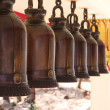 Buddhistic bells - Stockfoto