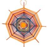 Mandala woven with threads — Stock Photo #9933418