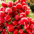 Organic radishes — Stock Photo