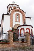 Orthodox church in Vrsac - St. Theodore — Stock Photo