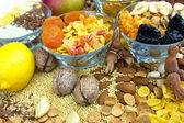 Healthy food - dried fruit — Stock Photo