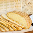 Stock Photo: Slices of corn bread