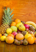 Fresh organic fruits — Stock Photo