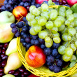 Stock Photo: Fresh organic fruits