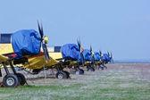 Engines of aircrafts — Zdjęcie stockowe