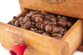 Caffe grains — Stock Photo