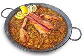Lobster paella — Stock Photo